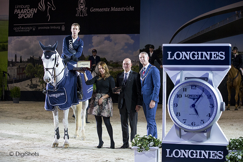 Maikel rules supreme in Longines Trophy